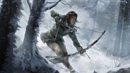 Key Art for Rise of Tomb Raider