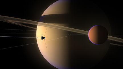 Voyager II at Titan