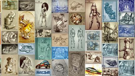 2D Concept Artwork