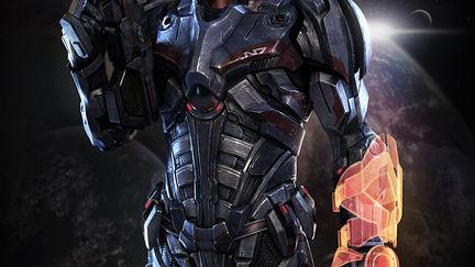 Mass Effect N7 Soldier ( fan art )