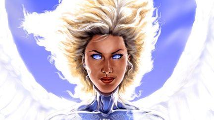 Angel of the Divine Wind Closeup