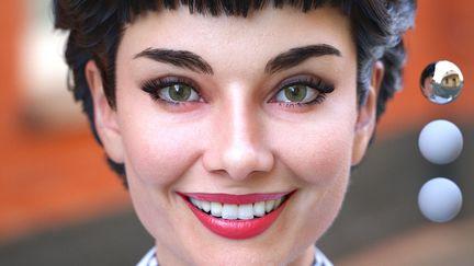 Audrey's smile