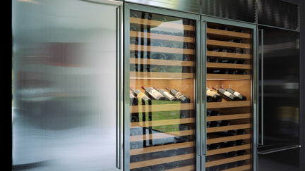 Matrix kitchen closeup