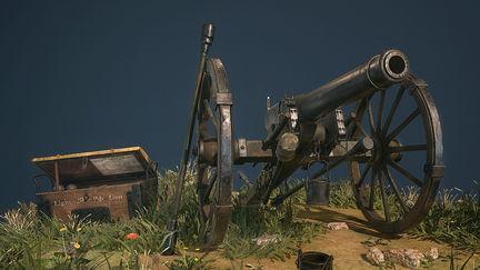 Civil-War: Parrott Field Cannon