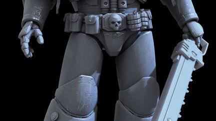 Space Marine Sergeant- DoW 2