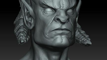 DWV head sculpt 2