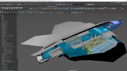 Brighter Tommorows lead to designs like the Banshee Propulsion system