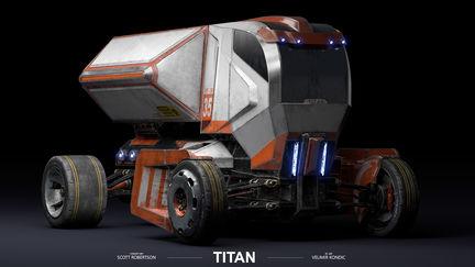 TITAN (Near Future Truck)
