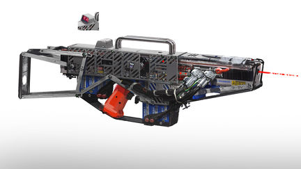 Prototype laser rifle