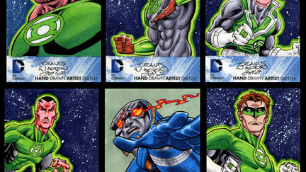 DC New 52 Sketch Cards