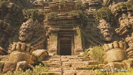 Warrior's Pilgrimage Outdoor Temple Area