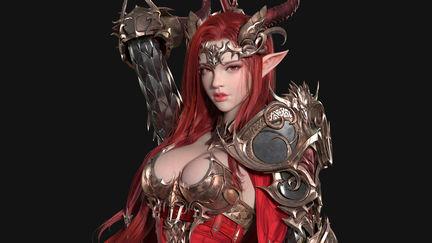Goddess of Dragon(龙女神)