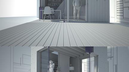 Micro House Slim Fit / Architecte : Ana Rocha