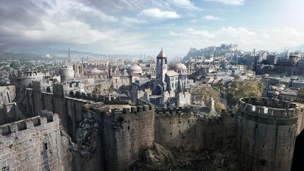 Assassin's Creed E3 trailer matte painting