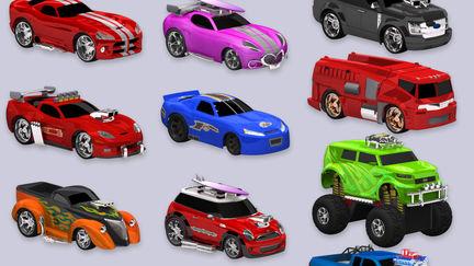 Plenty of Toy Cars