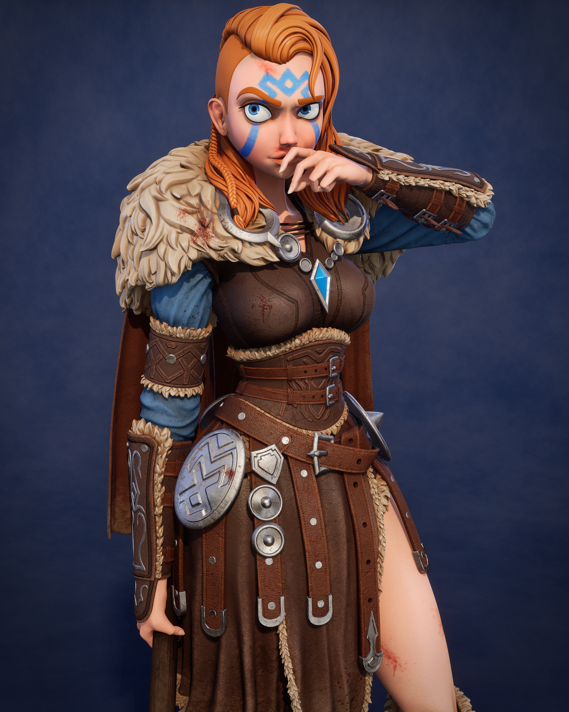 Viking Warrior Zbrushcentral