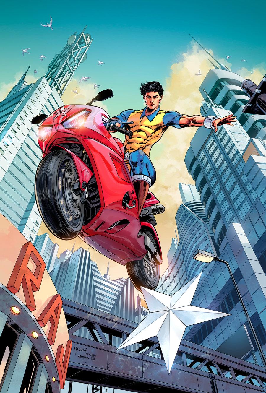 Super Commando Dhruv by Panelgutter   Comic art   2D   CGSociety