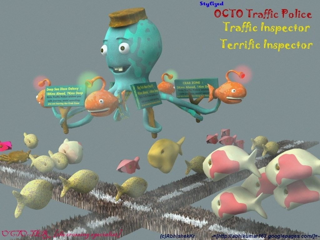 Abhishekkr octopus the traffic  1 265b16f3 ydh1