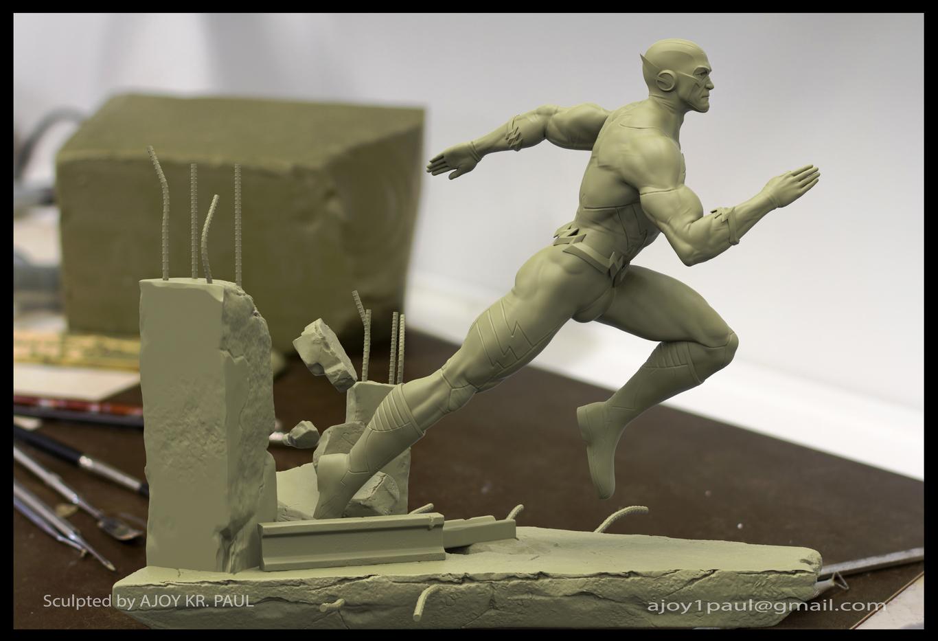 Ajoykrpaul flash statue sculpt 1 5486c6ff x71x