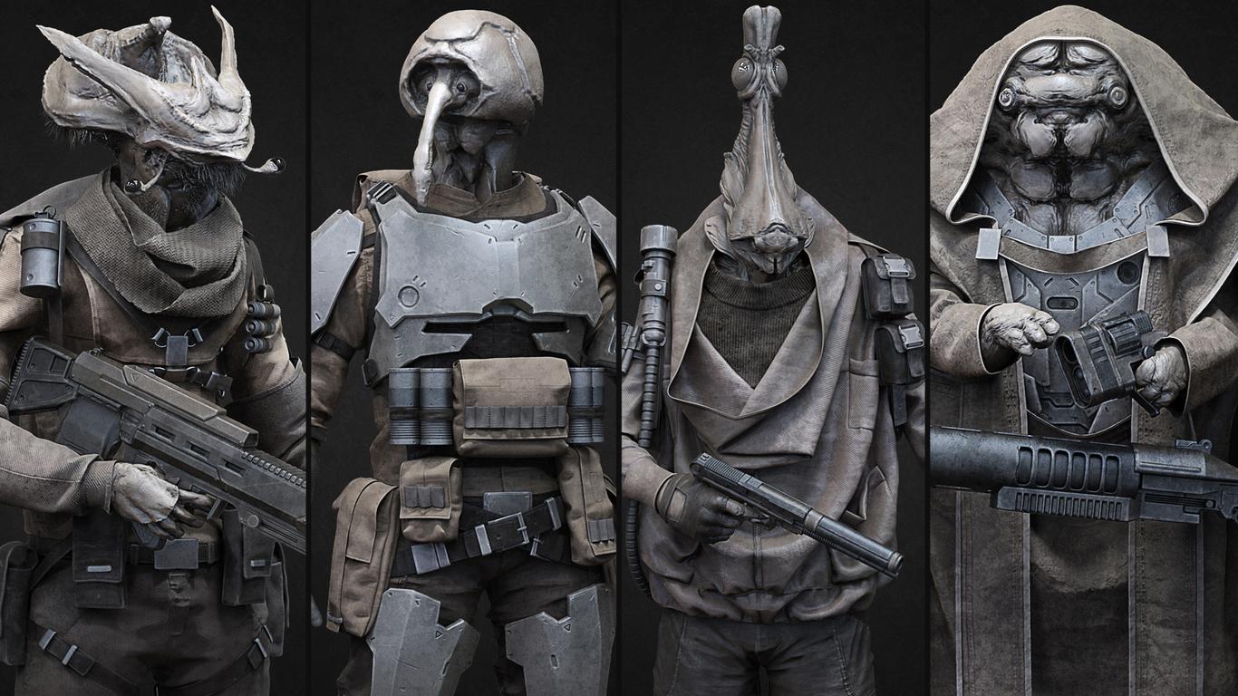Star Wars fan art  by amdeewet | Creatures | 3D | CGSociety