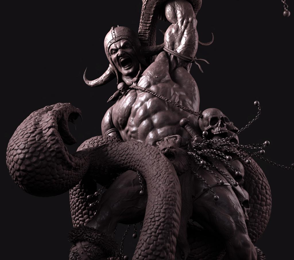 Amrutraju the conan barbarian  1 567af84b 51p8