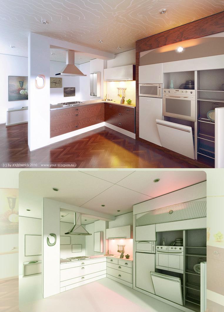 Artistmax interior kitchen 1 d08a280f vjdd