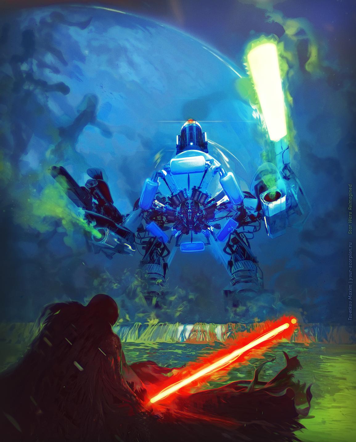 STAR WARS: REIMAGINED - Darth Vader vs. R2-D2