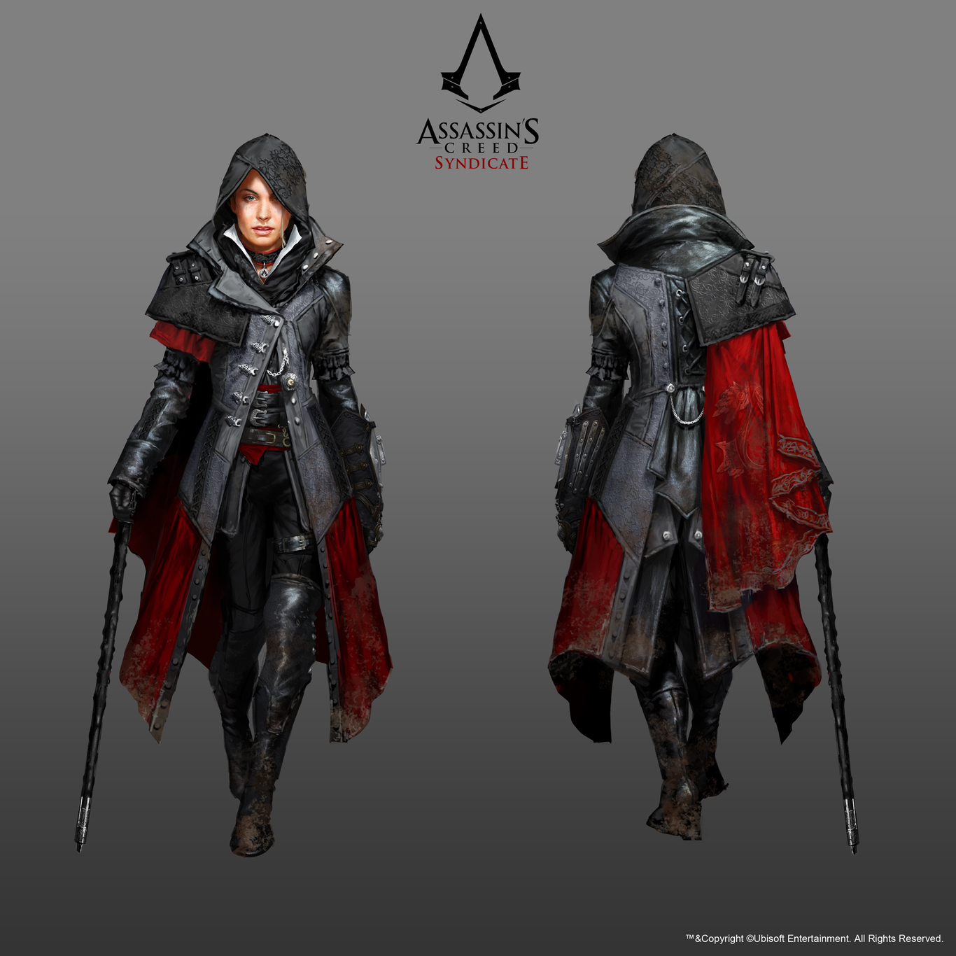 Assassin S Creed Syndicate Character Evie Frye By Artjunkie