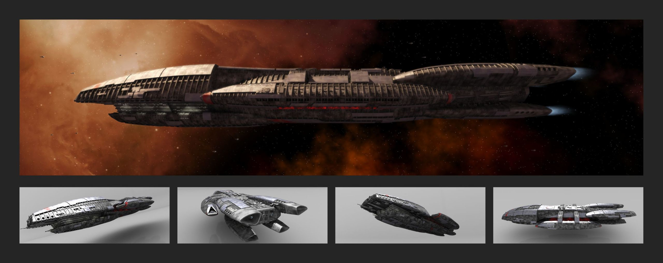 Galactica poster layout