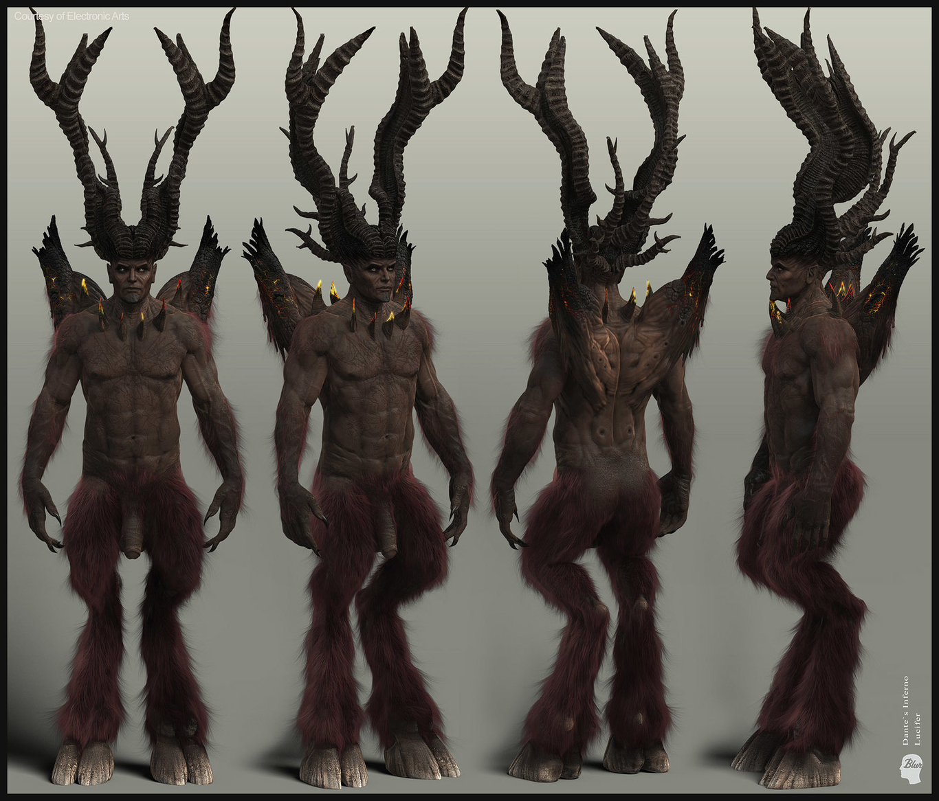 Lucifer Dante S Inferno By Baldasseroni 3d Cgsociety