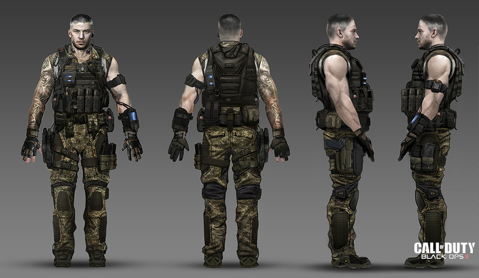 Call of Duty: Black Ops II by CIRE | Design | 2D | CGSociety