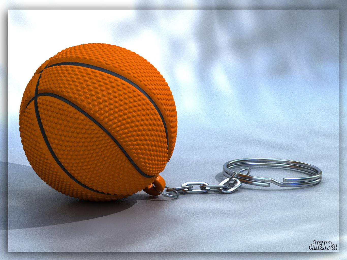 Deda basket ball keychain 1 c303faa1 p2zq