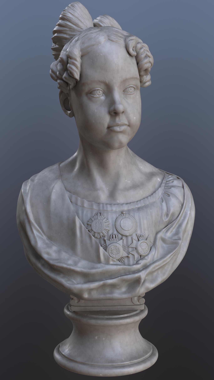 Baroque era Portuguese Bust