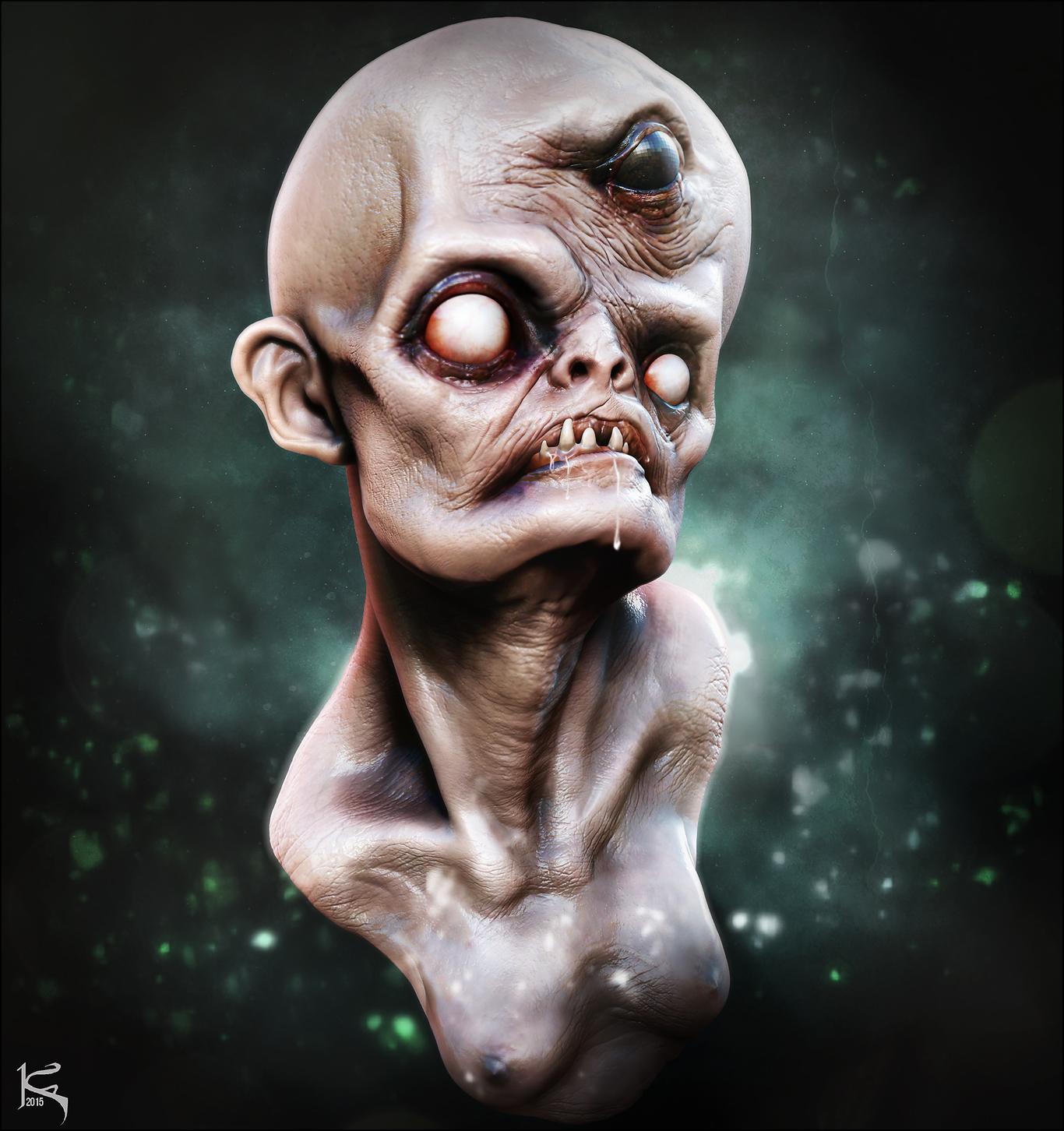 Josh Hardie Fan Art #3 - Monster Creature Design Doodle