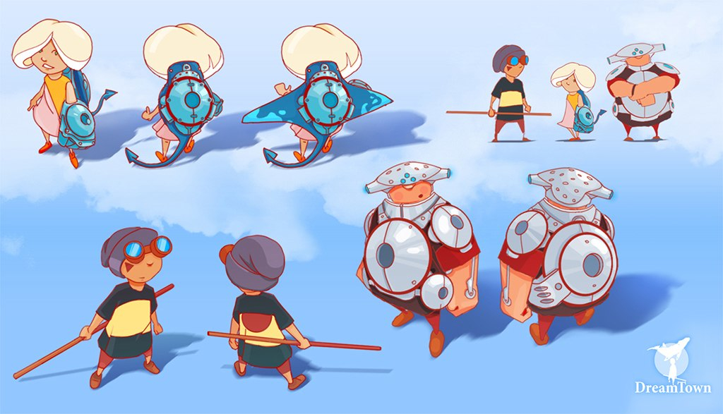 Characters concept
