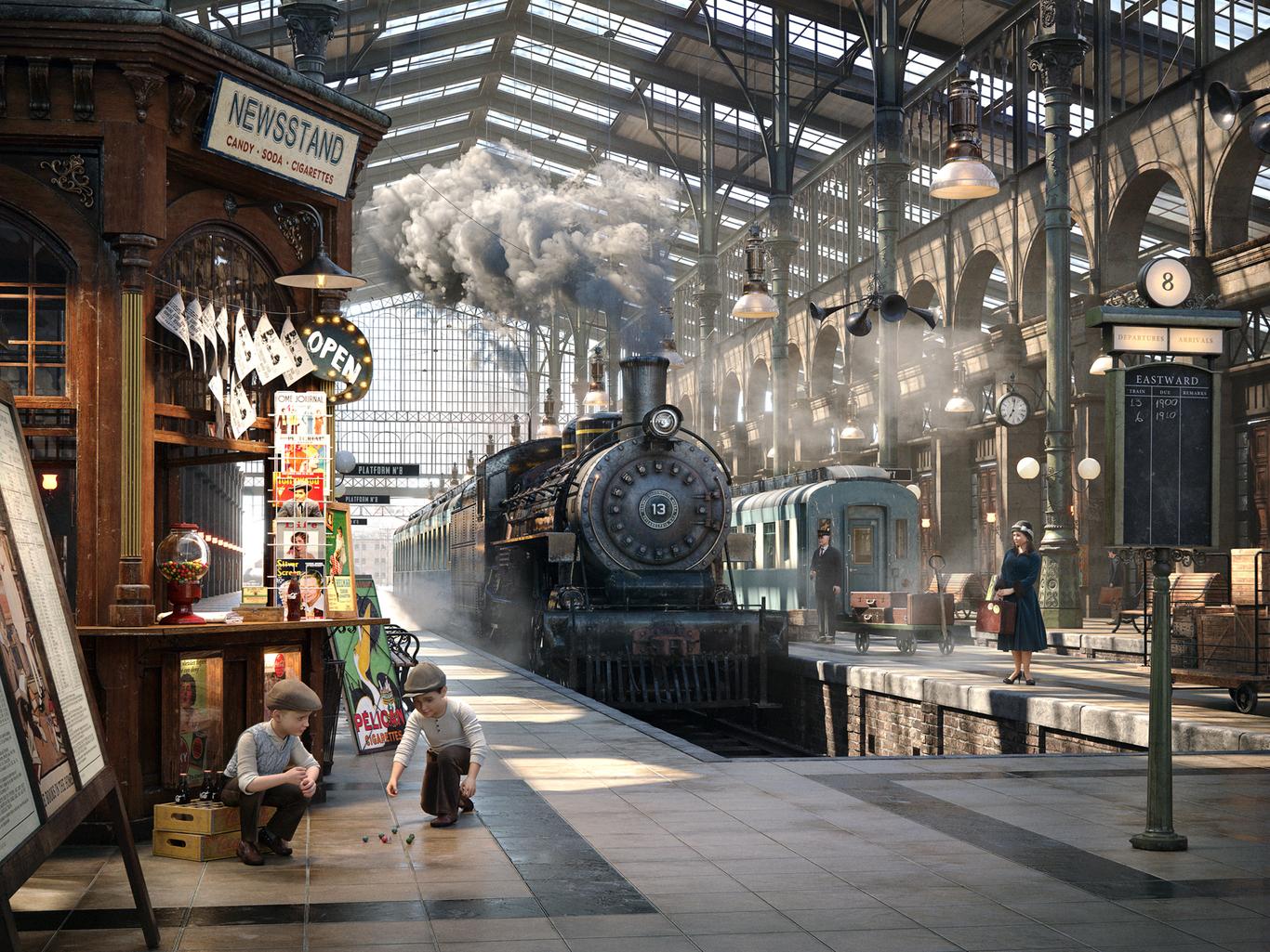 Latter 1930s trainstation 1 7c695b0a b8ub