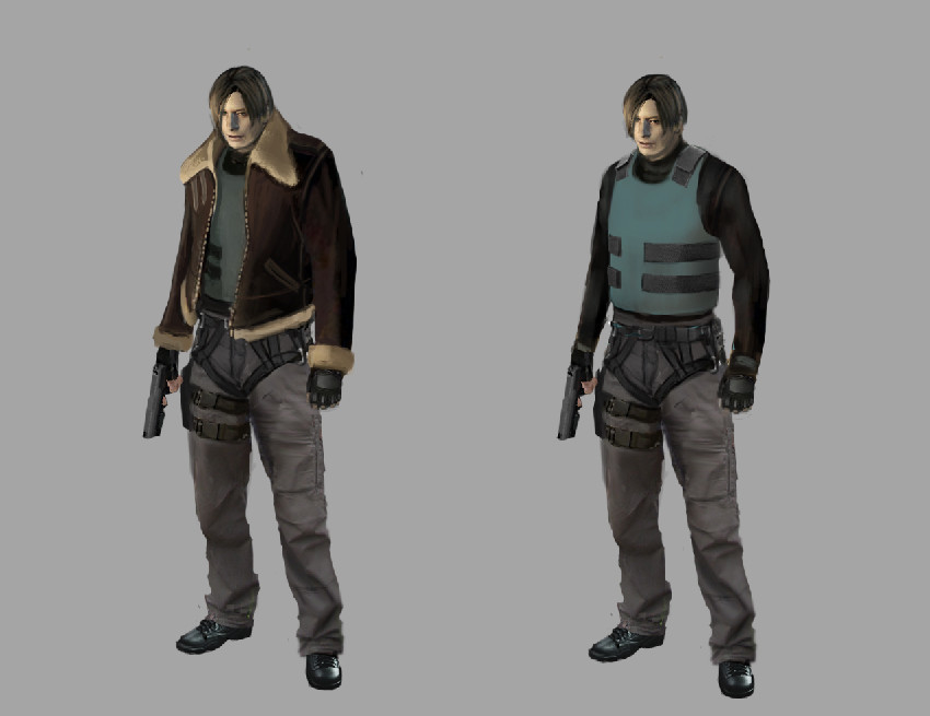 Would You Mind A Resident Evil 4 Remake Done In The Style Of