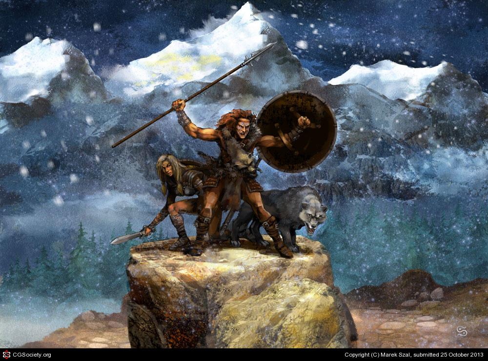 Marekszal barbarian wolf 1 7cb13209 lydg