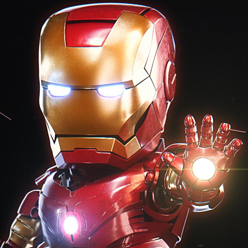 IRON MAN fan Art by maximusBill   Fan Art   3D   CGSociety