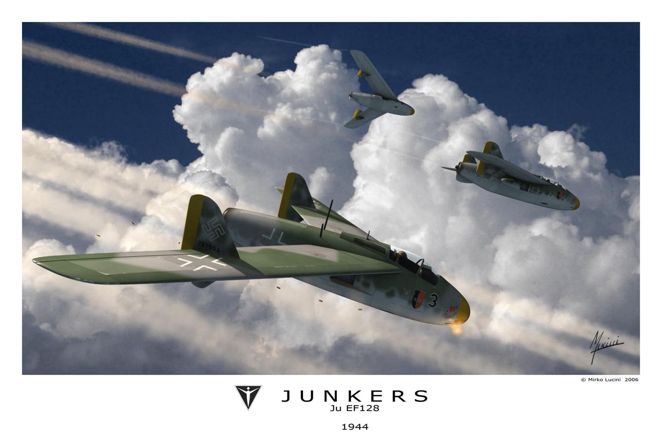 Junkers EF 128 by Mirk | 3D | ...