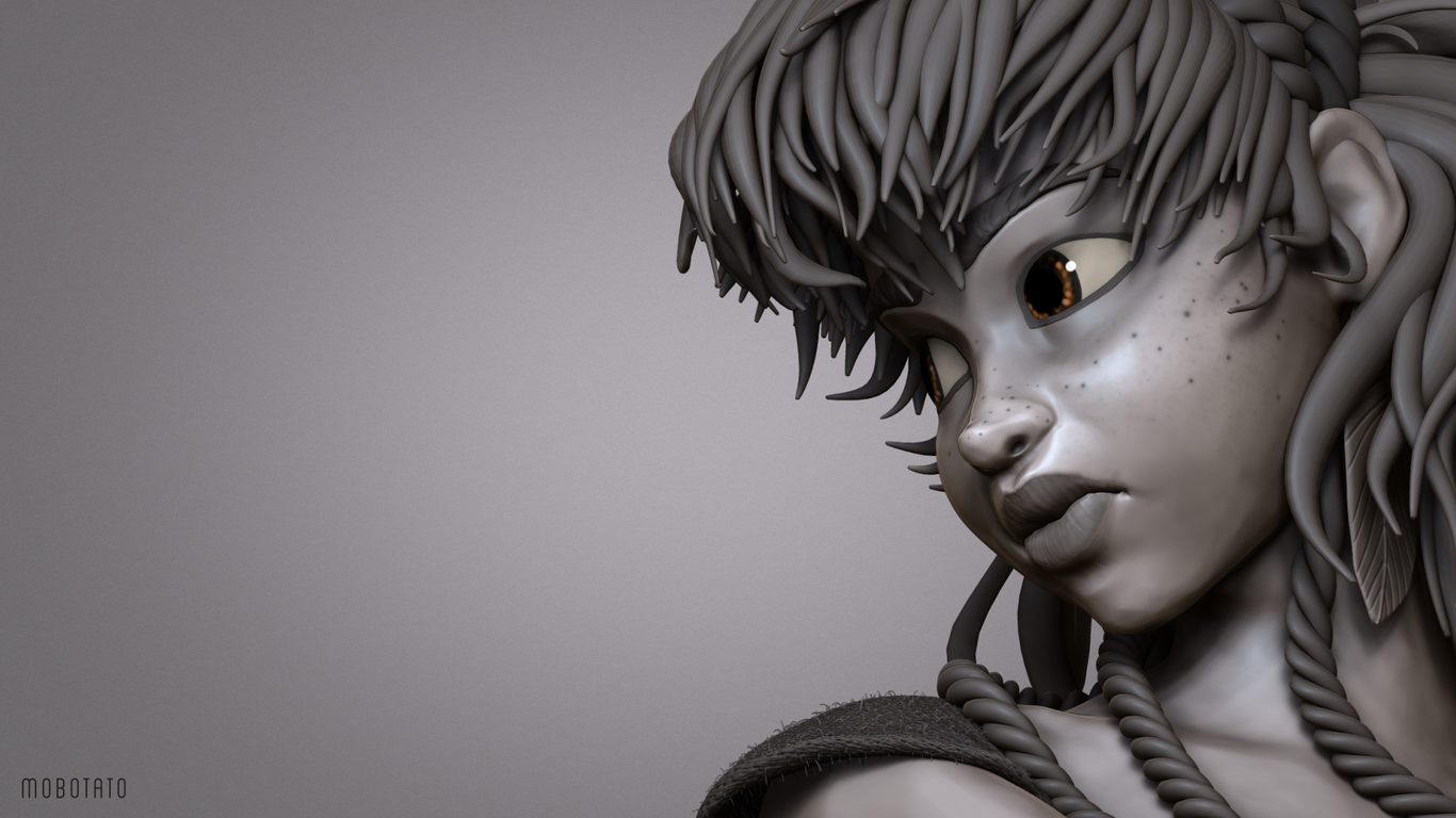 Aloy Horizon Zero Dawn Fan Art By Mobotato Fan Art