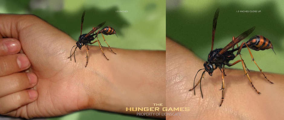 The Hunger Games Tracker Jacker Design By Npilly Creatures 3d