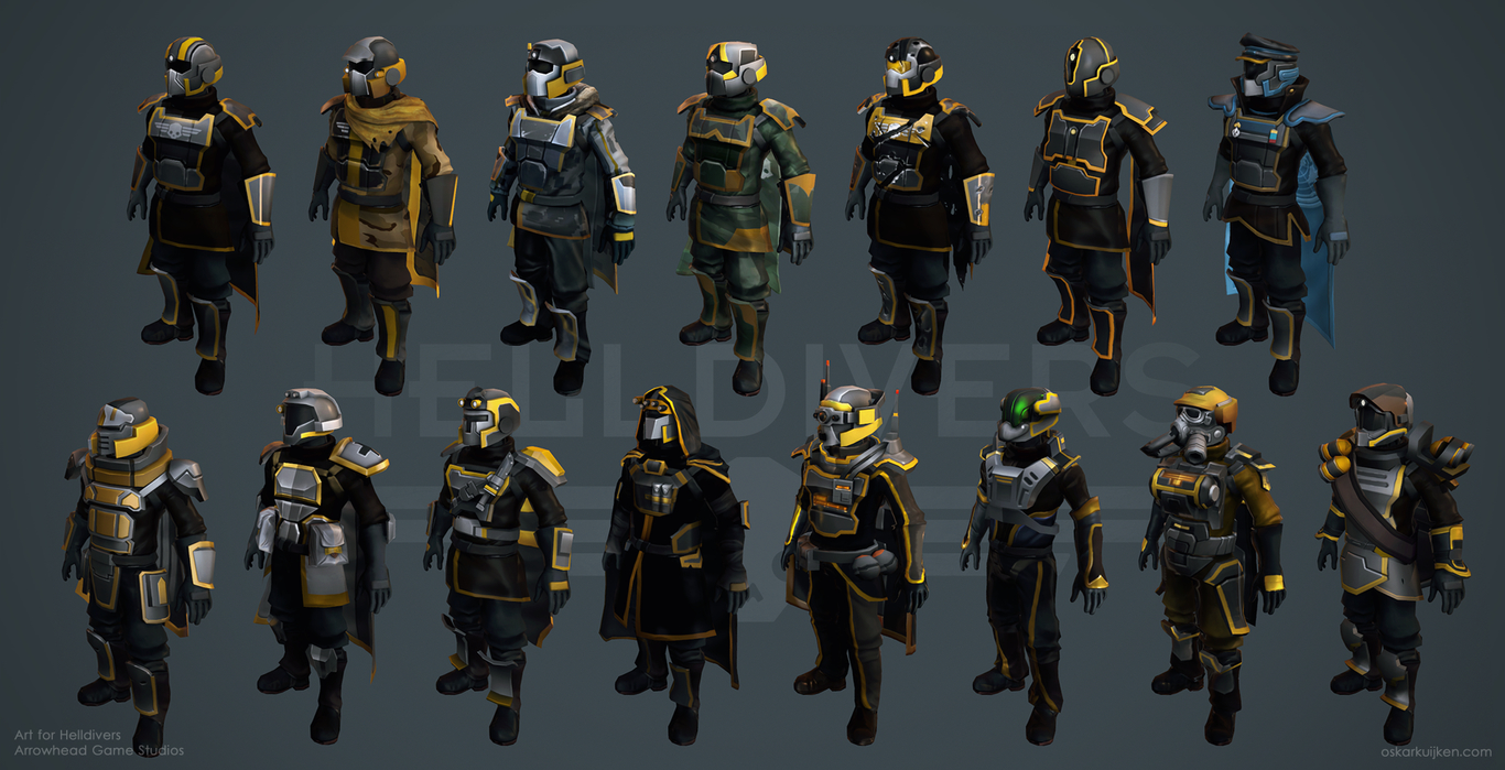 Armor Overview - Helldivers