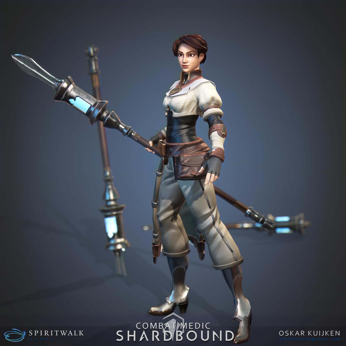 Combat Medic - Sharbound by OskarKuijken | Fantasy | 3D | CGSociety