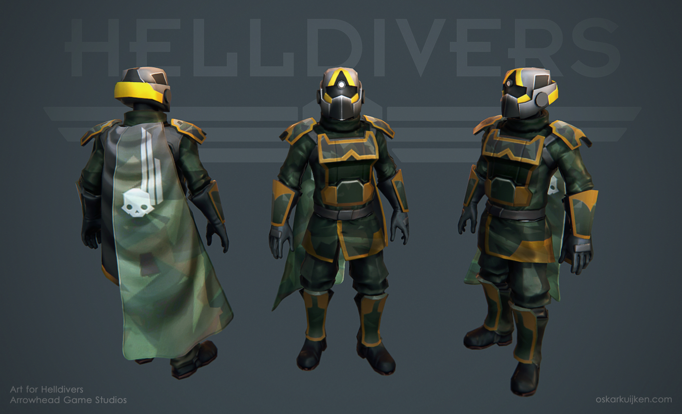 Forest - Helldivers