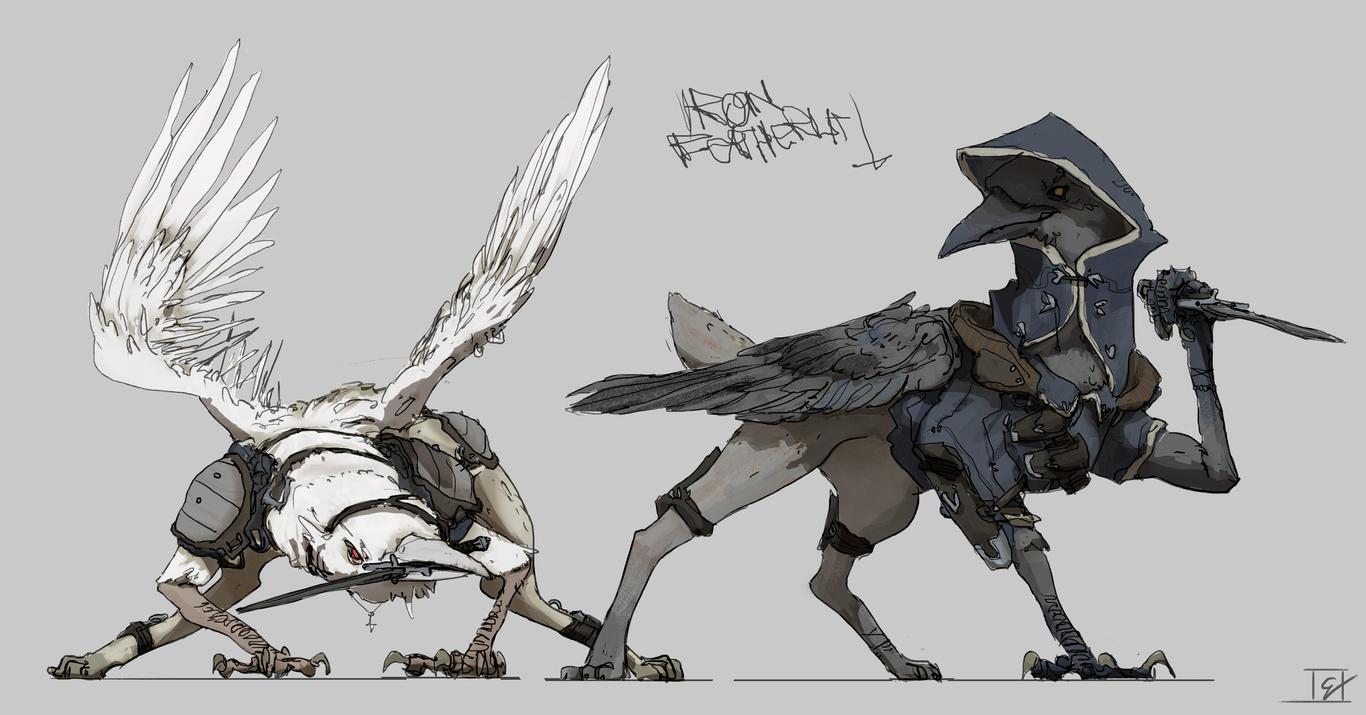 Iron Feathers