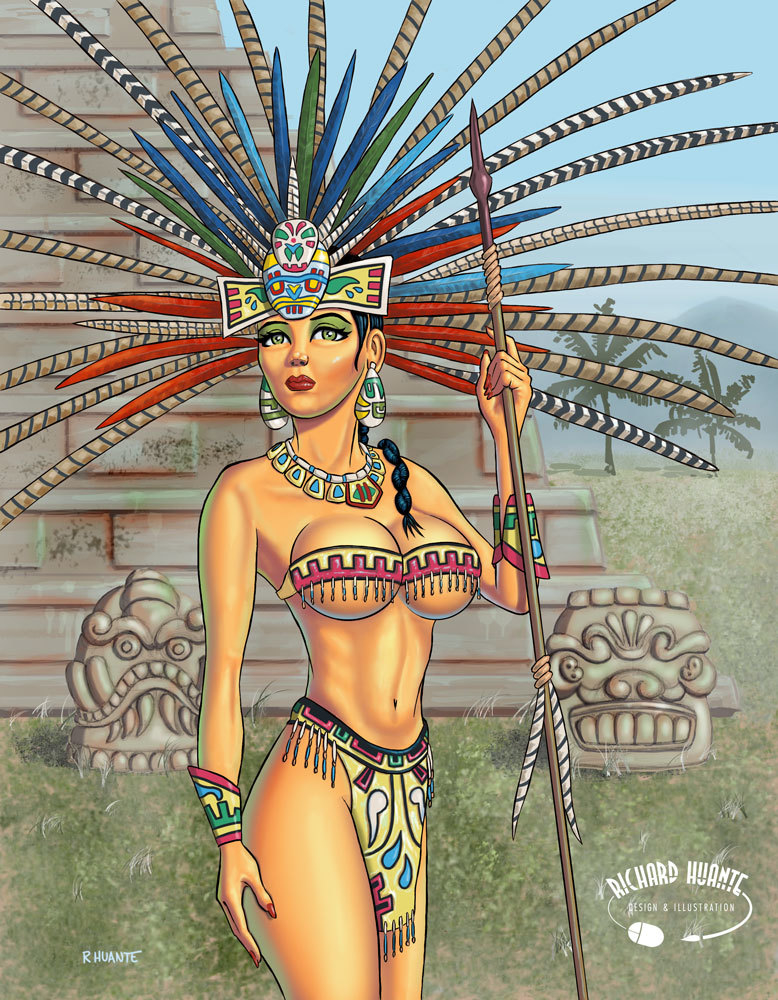 Hot aztec girls — pic 4