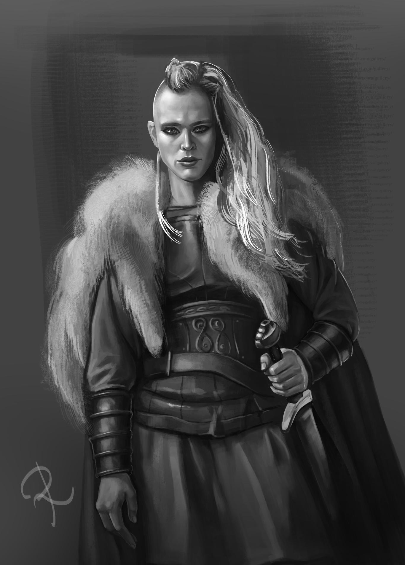 Сделать, прикольные картинки девушка викинги