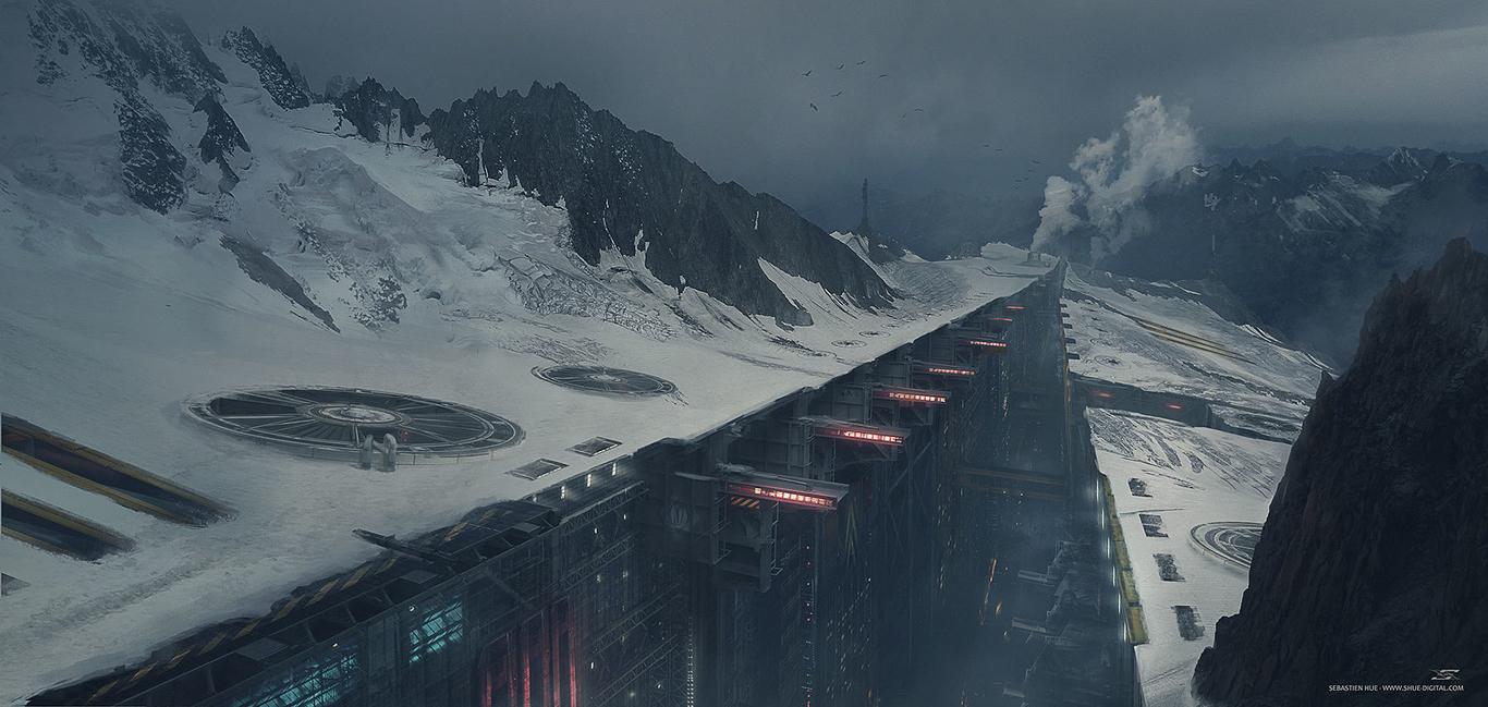 Artificial Glacier