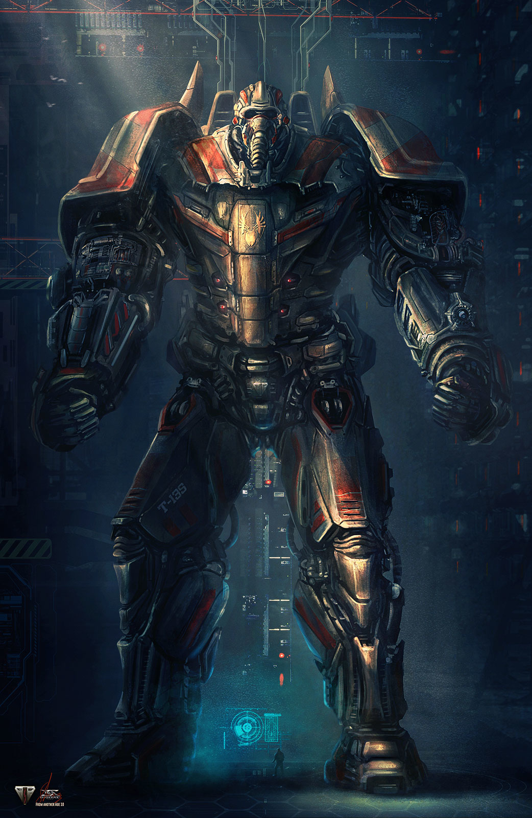 From another age - Concept 10 - COLOSSUS T-13S